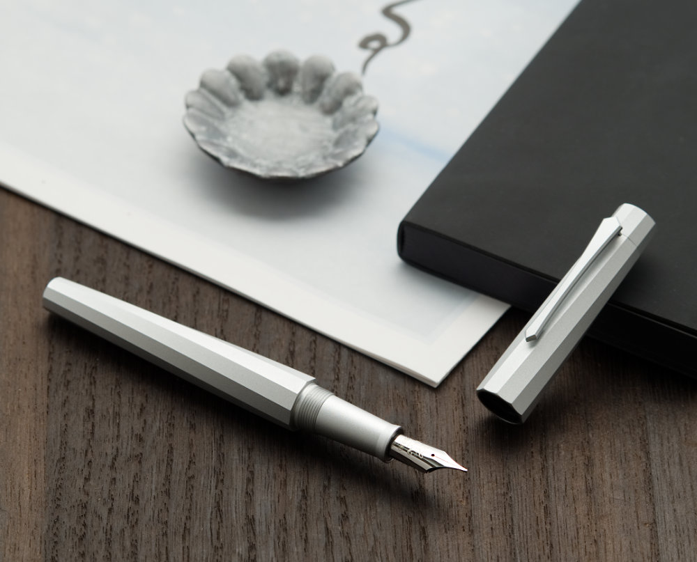 image from First Impressions: PenBBS 380 Silver Velvet with M nib